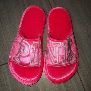 Victoria's Secret PINK Bedroom Slippers Sz M